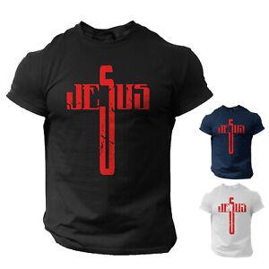 Jesus Cross T-Shirt Christian Men/Women Religious Tee
