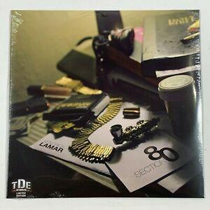 "Kendrick Lamar Section.80 Section 80 2LP Vinyl Limited Black 12"" Record"