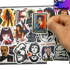 Movie Stickers 50Pcs Lot Graffiti Decals Pack Luggage Laptop Skateboard Classic