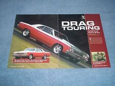 "1967 Chevelle Malibu Hardtop Article ""Drag Touring"" G-Machine"