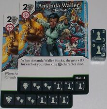 2 x AMANDA WALLER: THE WALL 41 Green Arrow and The Flash Dice Masters