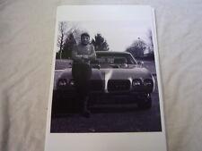 1970 PONTIAC GTO WITH LEONARD NIMOY SPOCK   11 X 17  PHOTO  PICTURE