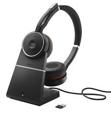 Jabra Evolve 75 MS Stereo Wireless Headset with Charging Stand 7599-832-199