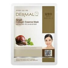 [DERMAL] Snail  Collagen Essence Face Mask Sheet 10PCS Made in Korea