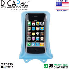 DicaPac WP-i10 Waterproof Case for iPhone 2G, 3G, 3Gs, 4, 4S, 5S (Blue)