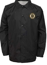 NHL Youth Boys Bravo Coaches Jacket Boston Bruins Small (8) Outerstuff