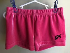 Gk Elite Shorts Size Adult Small ( 22-27 Inches ) Velour Stretch Velvet Pink