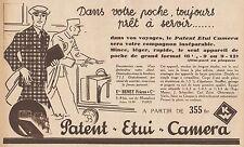 Y8913 Patent Etui Camera - Beney Frères - Pubblicità d'epoca - 1932 Old advert
