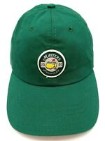 MASTERS GOLF TOURNAMENT 2005 green adjustable cap / hat - Made in USA!