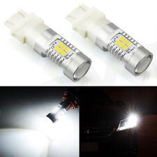 JDM ASTAR 2x White 3157 1260LM High Power 21-SMD LED Turn Tail Brake Light Bulbs