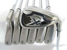Used Callaway X-20 Iron Set 4-P UniFlex Steel Shafts