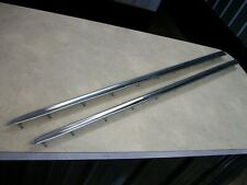 1957 Chevy, Chevrolet BelAir quarter panel tail fin stainless steel moldings