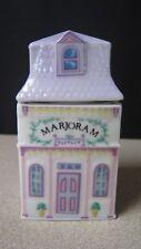 """Lenox Porcelain Replacement Spice Jar """"Spice Village"""" 1989 Marjoram"""