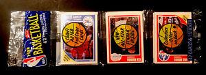 1989 FLEER BASKETBALL RACK PACK 3 HOF'ER SHOWING BARKLEY ISIAH JOHNSON! JORDAN?!