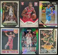Lot of (6) Michael Carter-Williams, Including Prizm silvers, Prestige/Hoops RC