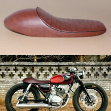 "24.5"" Hump Brown Cafe Racer Seat Vintage Saddle Honda CB GB Yamaha SR XJ GS New"