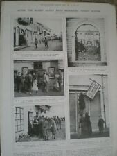 Photo article street scenes Monastir Bitola Macedonia 1916 ref An
