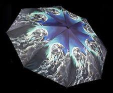 Canne parapluie transparent entoilage PoE métal Rayons Parapluie ø110cm parapluie