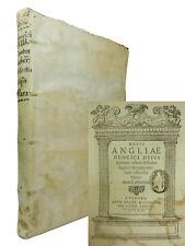KING HENRY VIII   ASSERTIO SEPTEM SACRAMENTORUM   1561