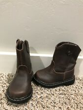 New Garanimals Boys Toddler Boots Size 4 Brown Cowboy Boots
