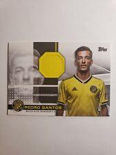 New listing 2020 Topps MLS Pedro Santos Match-Worn Jumbo Relic Patch /319 Columbus Crew SC