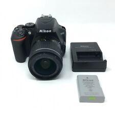 Nikon D3500 24.2MP with 18-55mm VR Lens Kit DSLR Camera - Black - 4442