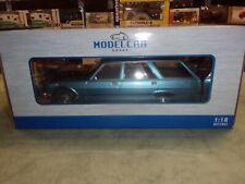 1/18 PEUGEOT 504 BREAK 1976 BLEUE-MODEL-CAR-GROUP-MCG18213