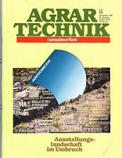Agrar Technik, orig. Magazin November 1985