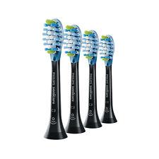 4x Sonicare DiamondClean C3 Premium Plaque Control Brush Heads | Black | w/o Box