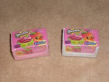 NEW, SHOPKINS SEASON 4 BLIND BASKET 2 PACK CRATE, SET OF 2