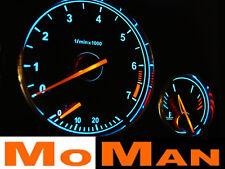 BMW E38 E39 X5 plasma tacho glow gauges plasma dials indiglo budiky dial kit