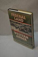R McGreggor Cawley~Federal Land, Western Anger~SIGNED~1st Edition/Printing~HC DJ