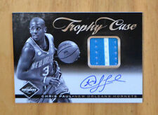 Chris Paul 2011-12 Panini Limited Trophy Case 2 Color Jersey Auto #D 14/25