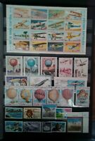 Flugzeug Flugzeuge Ballons Zeppelin Airplanes Briefmarken Sellos Stamps Timbres