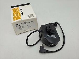 Quantum QTTL Flash Adapter D12 for Kodak Fuji Nikon D1 N90S F100 F5 D2H D70 Etc.