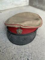 WW2 Imperial Japanese Army officers cap real military Free/Ship!! 3