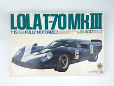 RARE TAMIYA 1:12 LOLA T-70 Mk III Big Scale 6 Motorized model kit BS1215 Surtees