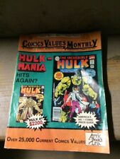 Used Comics Values Monthly Comic Book Price Guide Values #70  (May 1992)