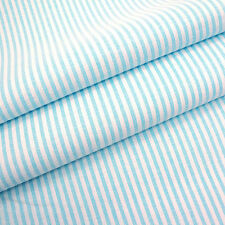 CANDY CHAMBRAY STRIPE 3mm stripes - PASTEL ALL COLOURS red pink blue yellow navy