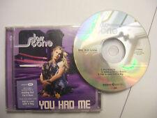 JOSS STONE You Had Me – 2004 UK CD Maxi Single Enhanced – RnB/Swing - BARGAIN!