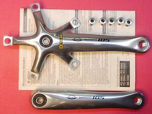 Shimano 5502/105-9 Sp. 170 MM Cigüeñales & Tornillos - NOS