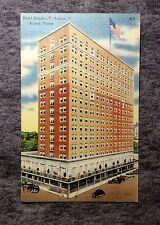 HOTEL STEPHEN F. AUSTIN AUSTIN TEXAS POSTCARD VINTAGE OLD 1900s #LL135