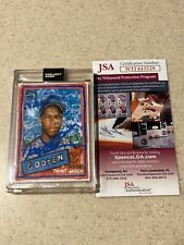 Topps Project 2020 #290 signed by Dwight Gooden * JSA * Gregory Siff *