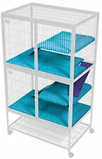 Shelf Pan and Ramp Covers for Ferret and Critter Nation Cages - Humane Pets Rat