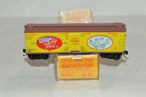 N scale Micro-Trains Line Kadee Quality Products 40' reefer car train