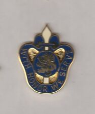 US Army Michigan National Guard ARNG crest DUI badge c/b clutchback P-23