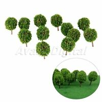 30Pcs Landscape Scenery Topiary Model Trees Train Diorama Layout 1/100 HO Scale