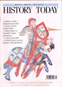 history today-MAR 1993-KNIGHTING CASTLE'S KING.