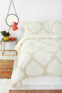 New Magical Thinking Diamond Tile Duvet Cover size Twin XL MSRP: $98