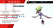 Dragalge Ultra Shiny Battle Ready Pokemon Sword - Shield, Pokemon Spada - Scudo